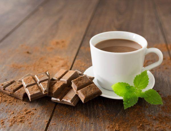 chocolate caliente keto