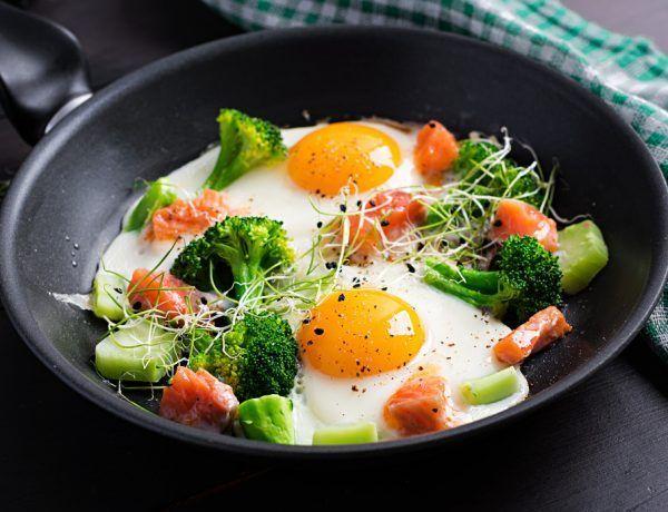 desayunos keto con huevos