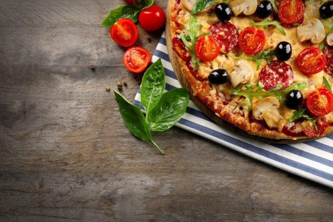 receta keto canasticas de pepperoni pizza