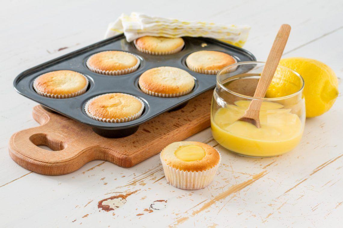 receta cupcakes keto de coco y limón