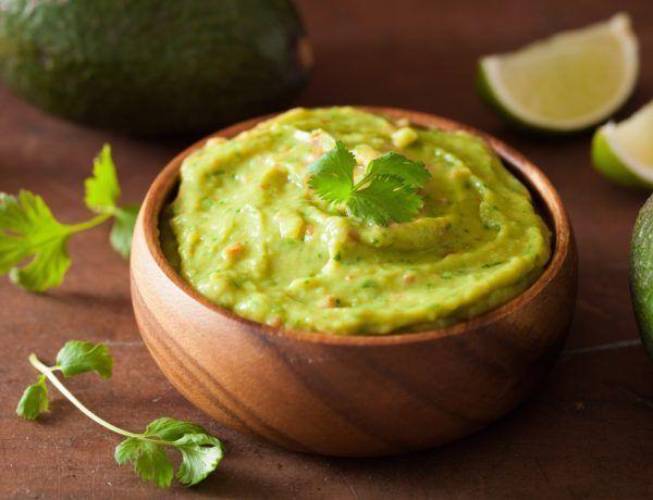receta keto fácil de guacamole