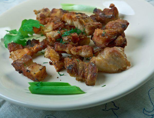 receta keto chicharrones y manteca de cerdo